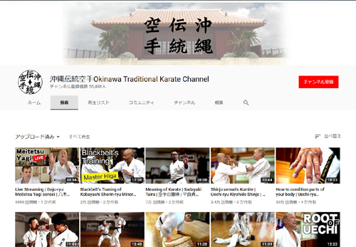Okinawa traditional karate 沖縄伝統空手